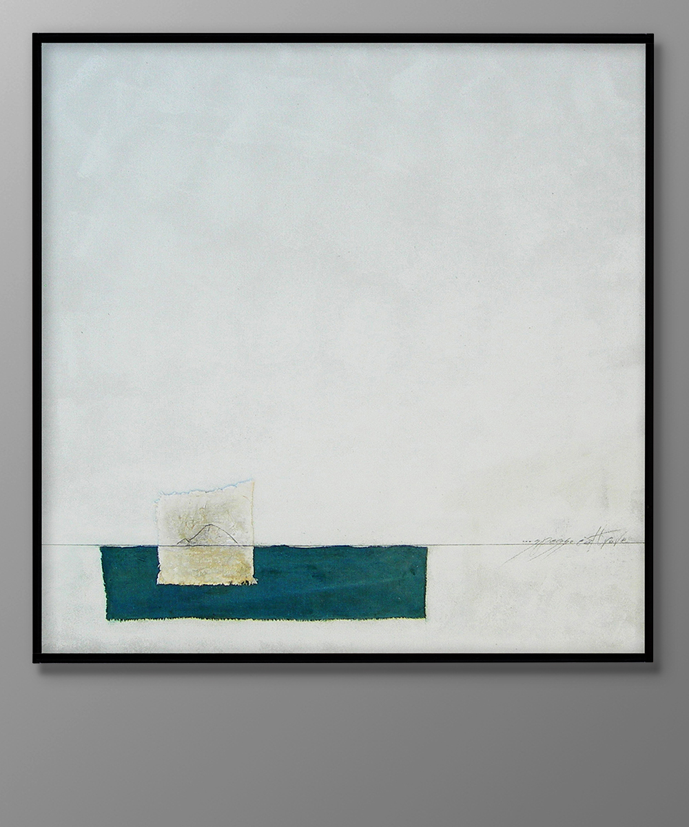 009-EXCURSUS - 2016 90 x 90 cm tecnica mista su lino