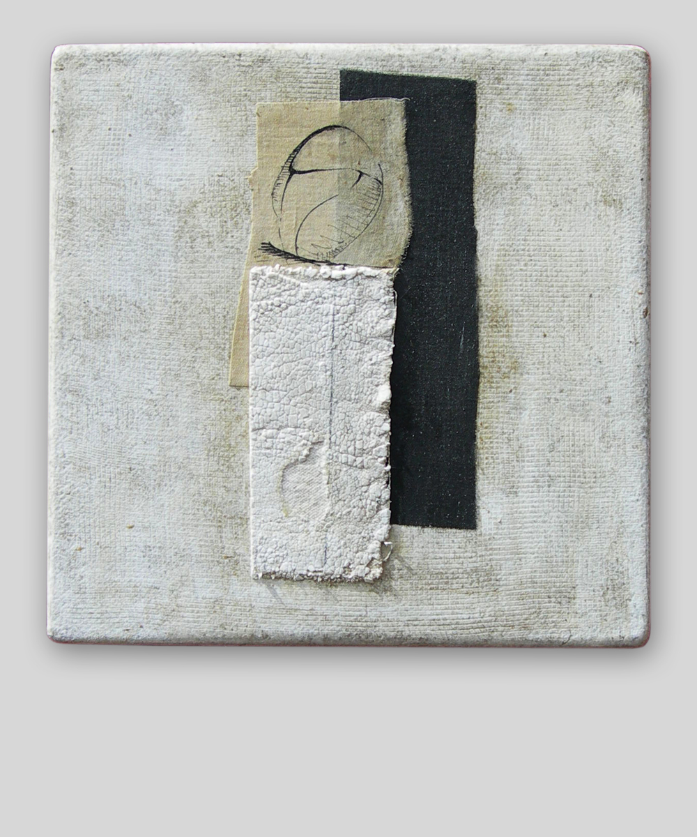 017-PRO-JECTUS (Homo)  -   2017 30 x 30 cm   mixed media on canvas panel