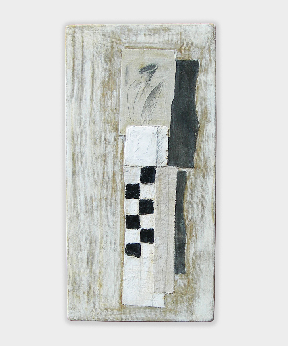 029-PRO-JECTUS (Homo) - 2018  30 x 30 cm mixed media on canvas panel